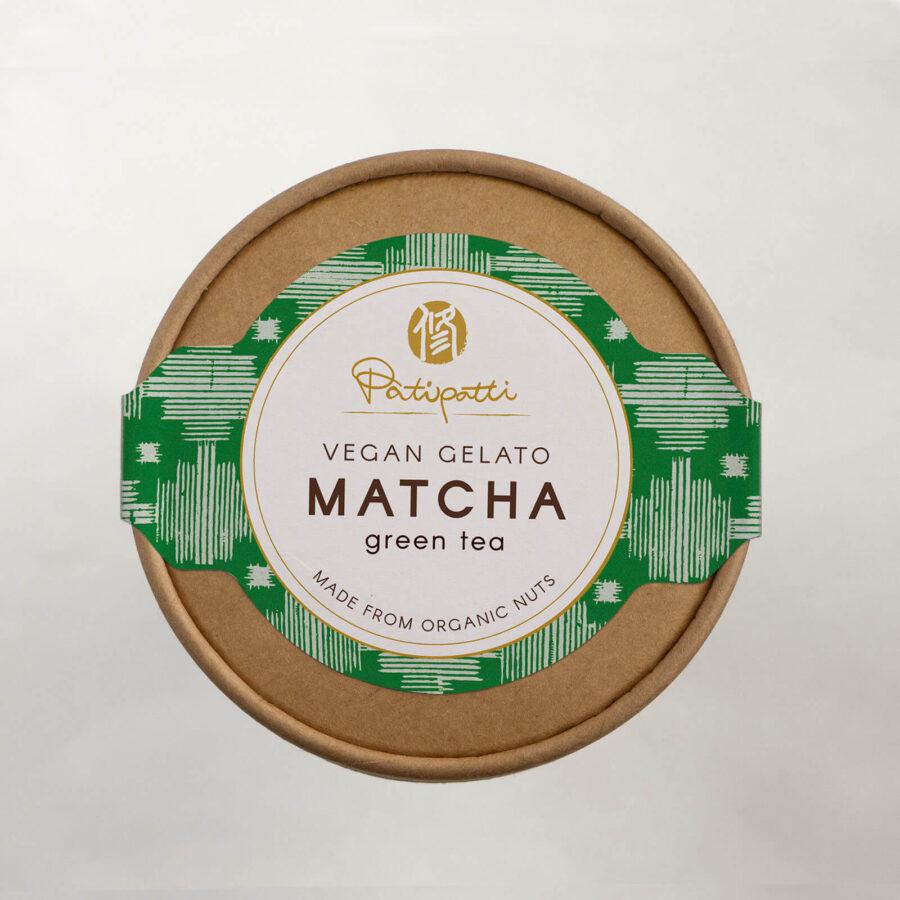 Patipatti Vegan Matcha Gelato - Top