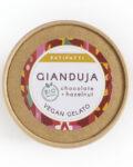 Patipatti Organic Vegan Gianduja Gelato - Lid
