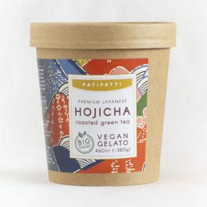 Patipatti Organic Vegan Hojicha Gelato - Tub