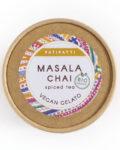 Patipatti Organic Vegan Masala Chai Gelato - Lid