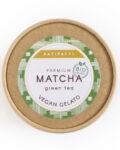 Patipatti Organic Vegan Matcha Gelato - Lid