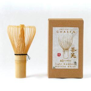 Light Bamboo Chasen 60 hondate