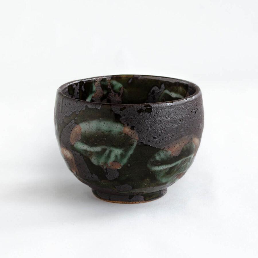 Water Garden Ippukuwan - Small Chawan Matcha Bowl - Patipatti