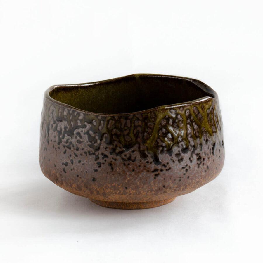 Terra Chawan - Brown Matcha Bowl - Patipatti