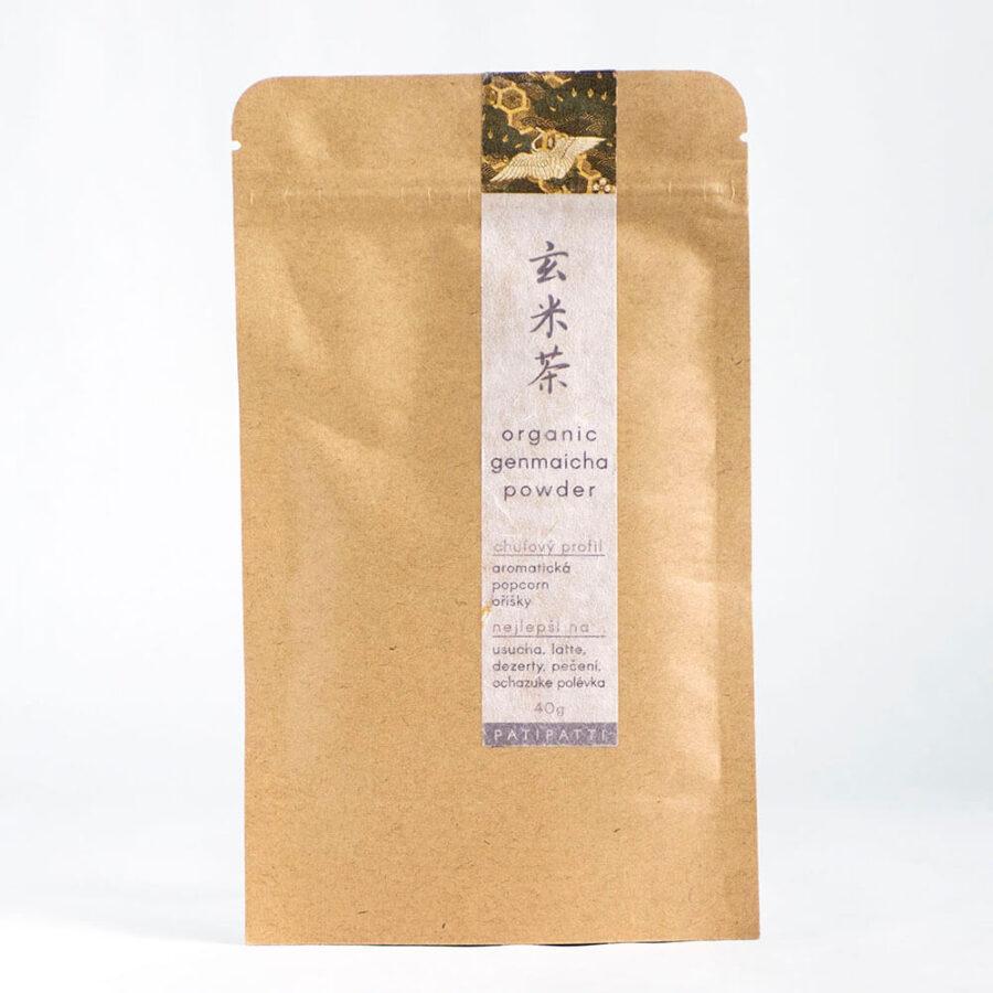 Patipatti Organic Genmaicha Powder