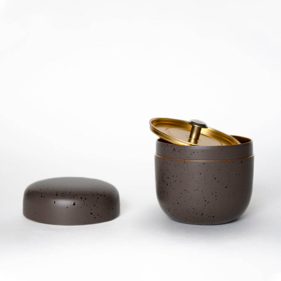 Pewter Mini Natsume Tea Can - Patipatti