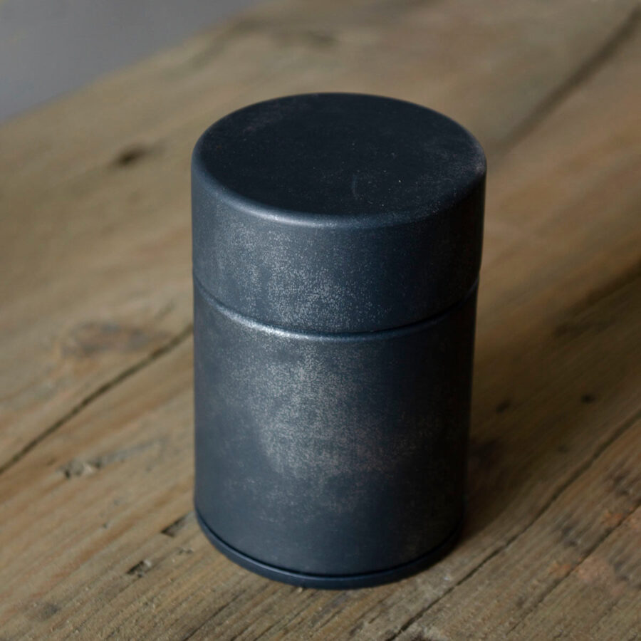 Patina Silver Mini Metal Tea Can - Patipatti
