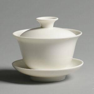 Patipatti Gaiwan - White Porcelain