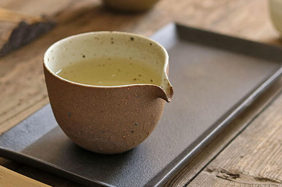 Patipatti Handmade Fairness Cup - Rough Clay Speckle