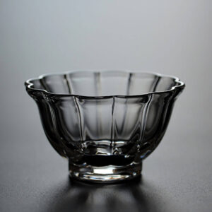 Patipatti Glass Teacup - Flower