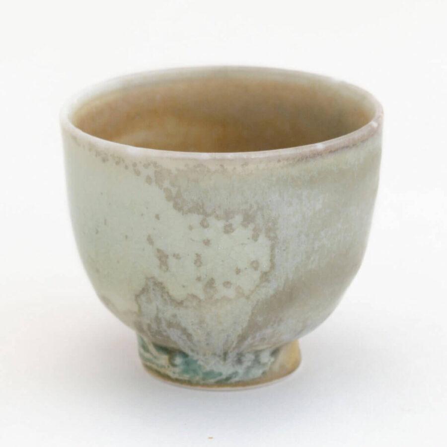 Patipatti Handmade Teacup - Mint Mottle