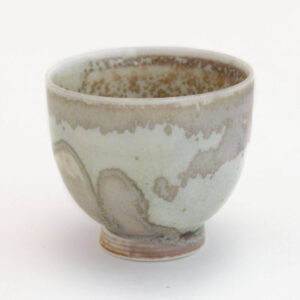 Patipatti Handmade Teacup - Mint Mottle