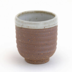 Patipatti Handmade Teacup - Rough Clay Speckle