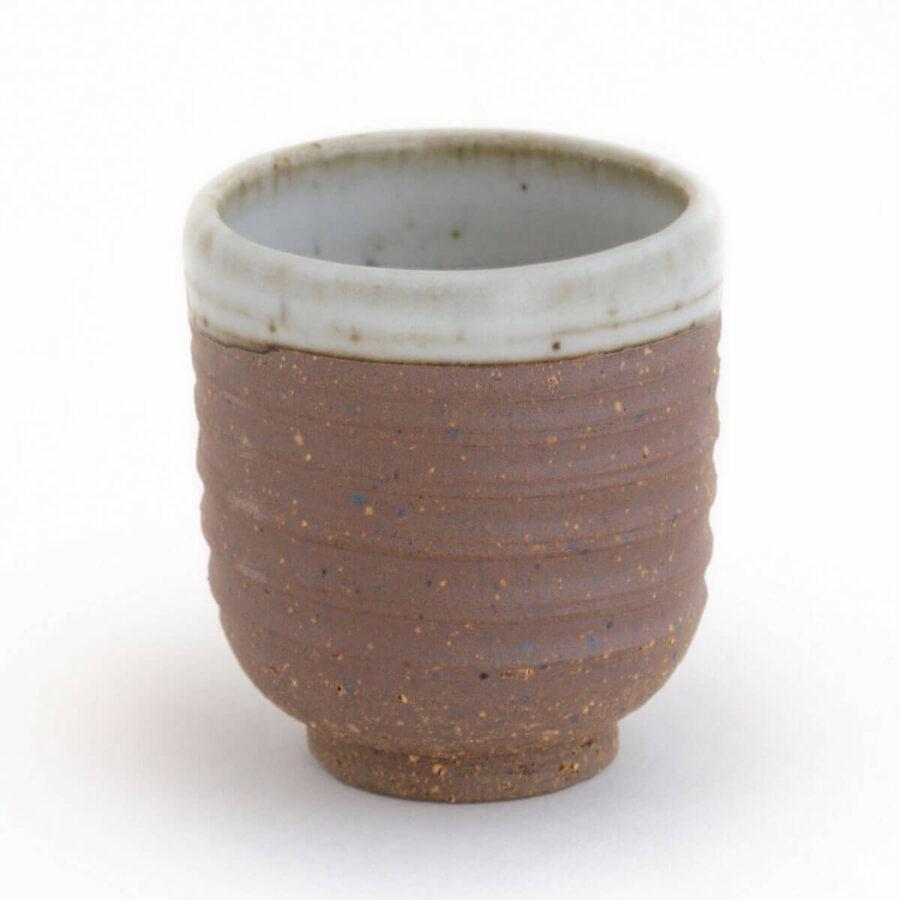 Patipatti Handmade Teacup - Rough Clay Speckle