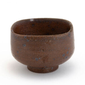 Patipatti Handmade Teacup - Rough Clay Squarish