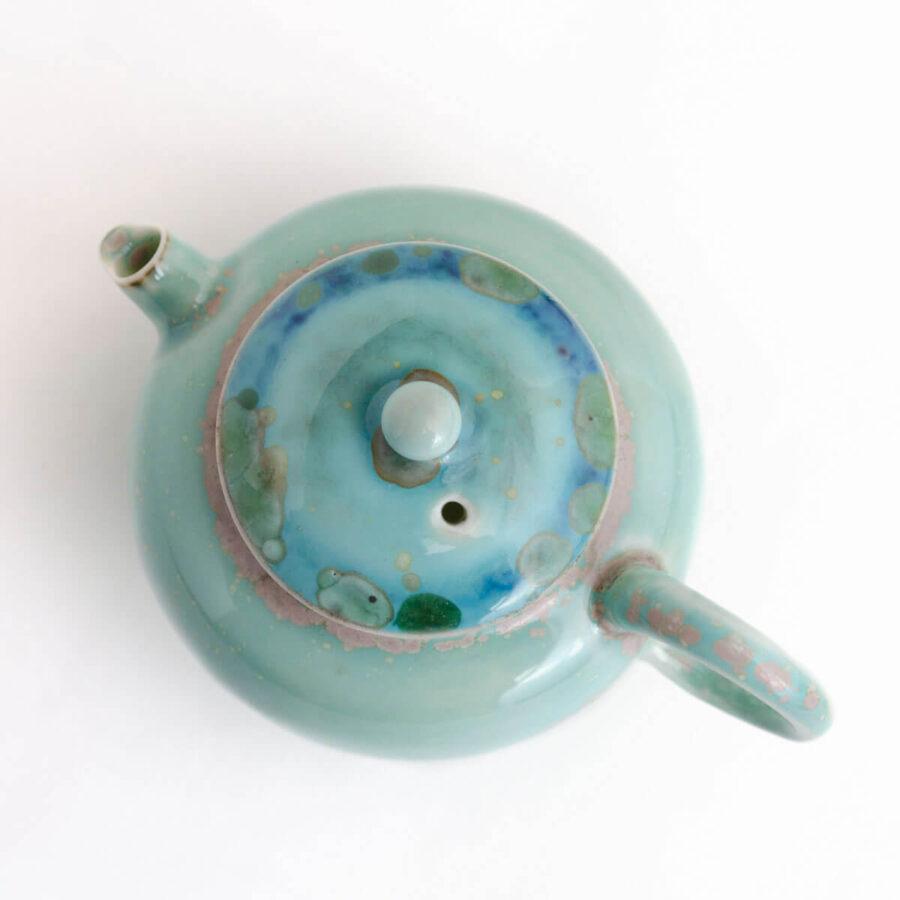 Patipatti Soda Ash Handmade Teapot - Agate
