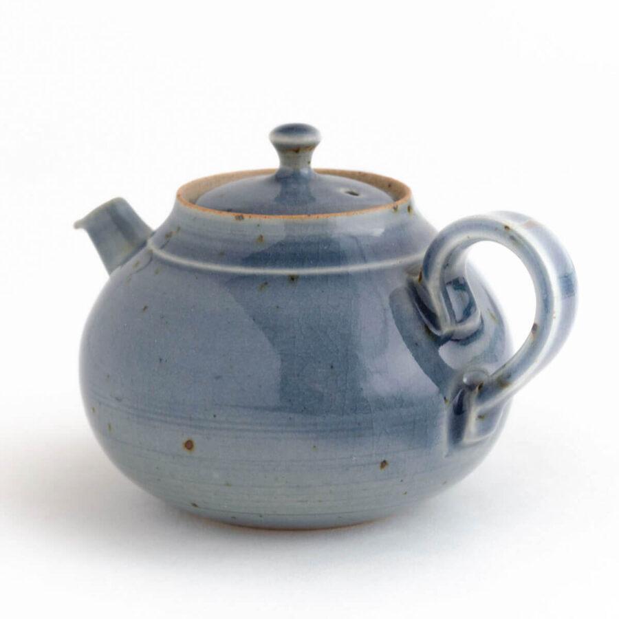 Patipatti Soda Ash Handmade Teapot - Blue Fog