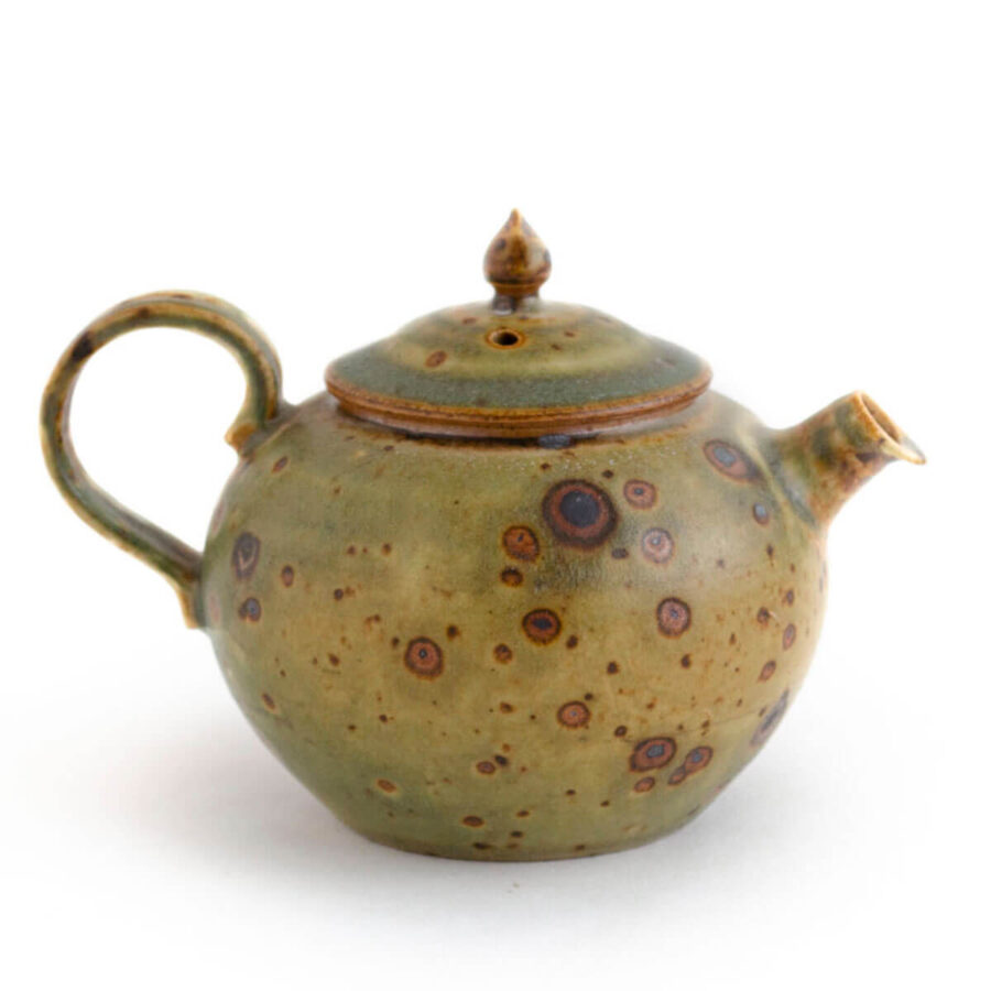 Patipatti Ash Glazed Handmade Teapot - Caloris