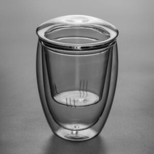 Patipatti Glass Teapot - Double-walled Vacuum Brewing Cup