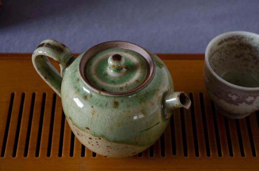Patipatti Handmade Teapot - Jade Moon