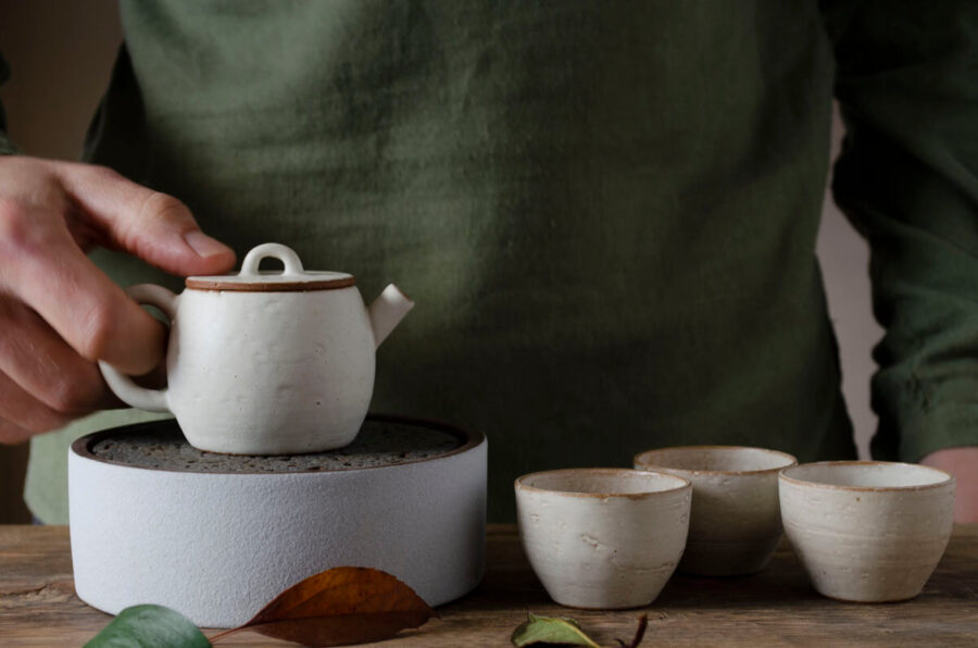 Patipatti Handmade Teapot - Kohiki Well