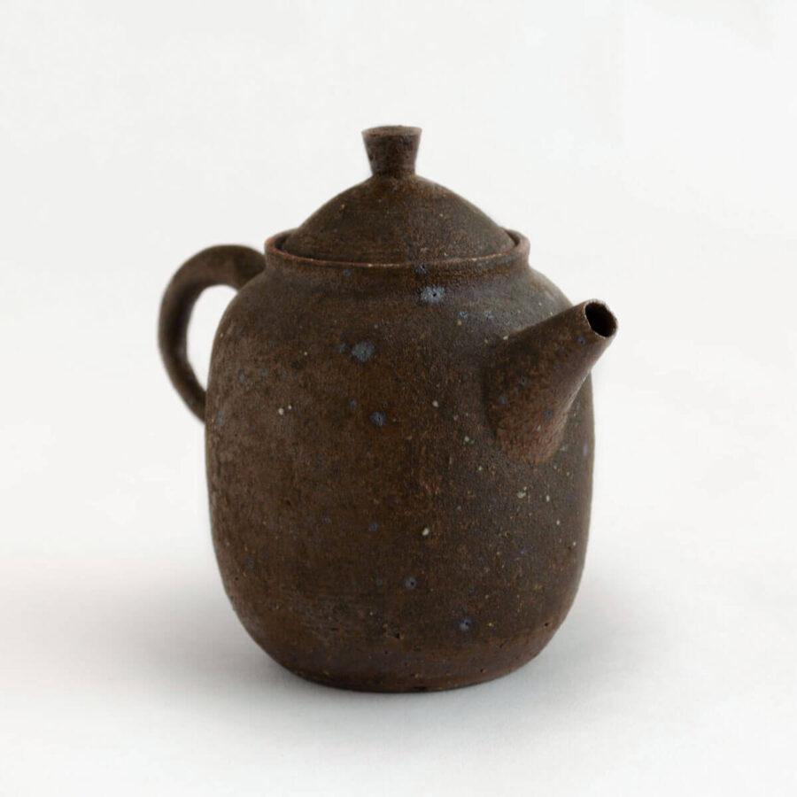 Patipatti Handmade Teapot - Rough Clay Chestnut