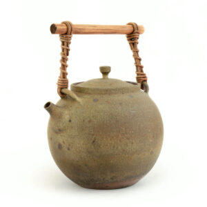 Patipatti Handmade Teapot - Rough Clay Moon Sphere