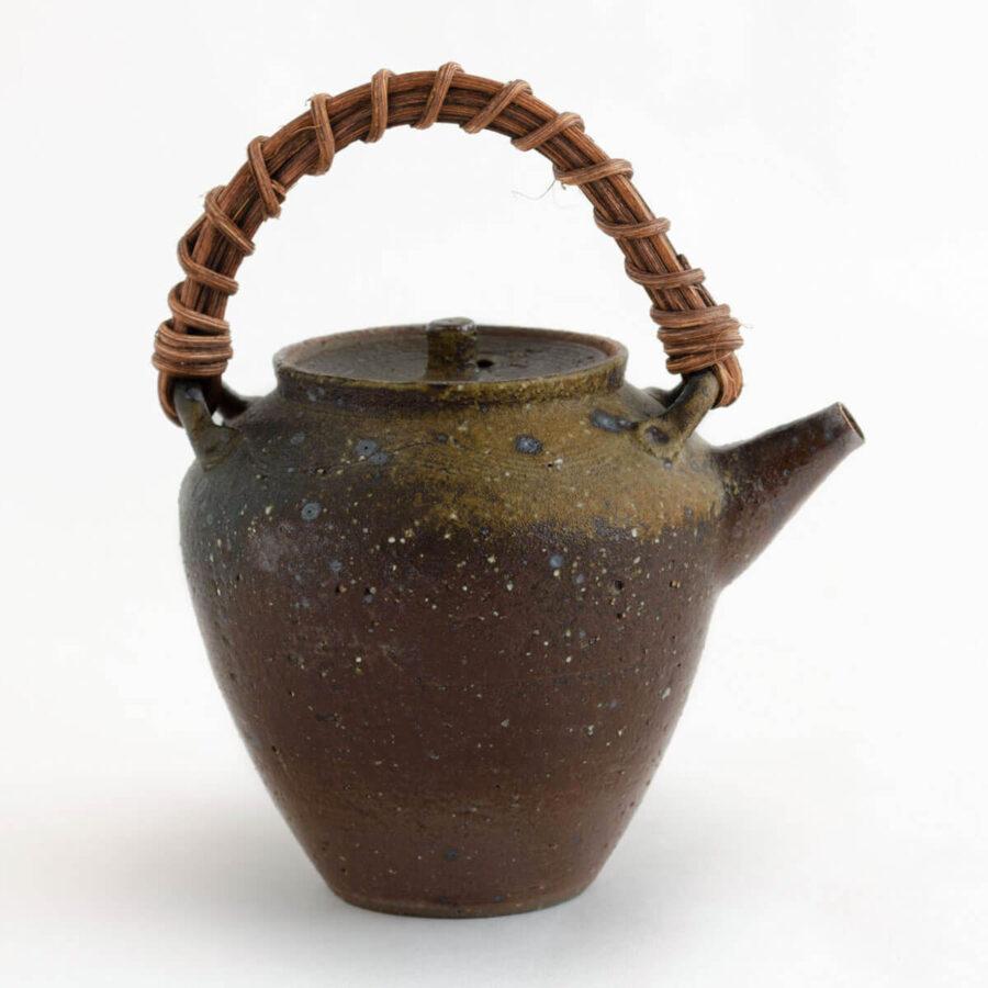 Patipatti Handmade Teapot - Rough Clay Onda