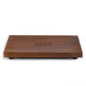 Patipatti Tea Tray - Warm Bamboo with reservoir tray or draining tube