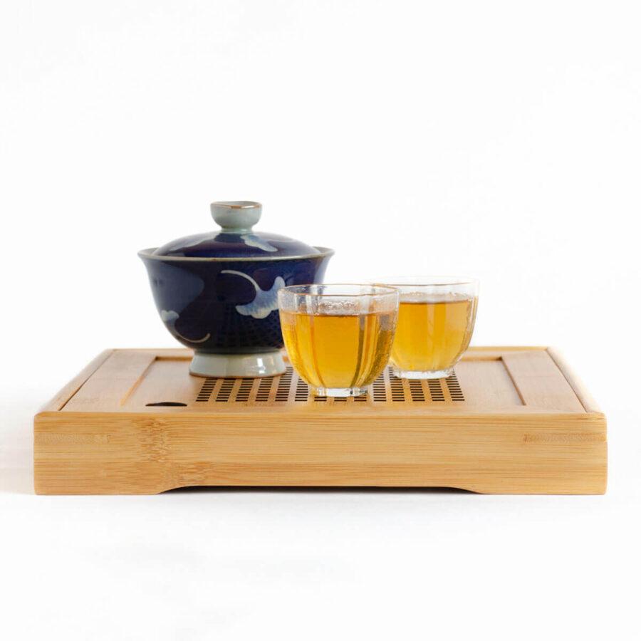 Patipatti Bamboo Tea Tray - Lattice Square – Reservoir