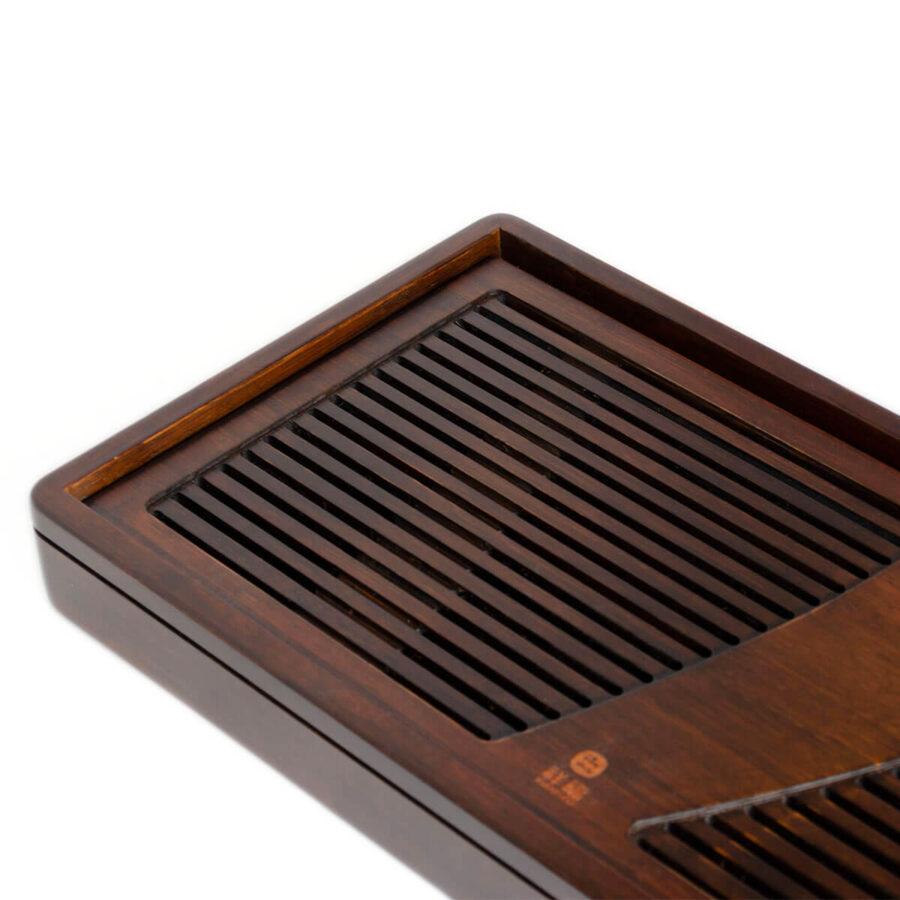 Patipatti Bamboo Tea Tray - Zither – Small Reservoir