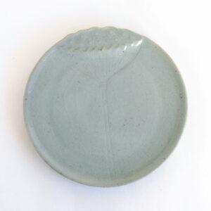 Patipatti Ceramic Tea Tray - Blue Lotus