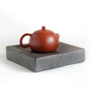 Patipatti Ceramic Tea Tray with Reservoir - Graphite