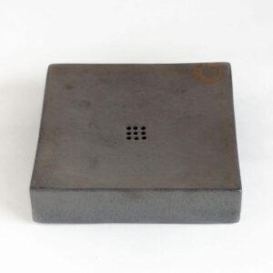 Patipatti Ceramic Tea Tray with Reservoir - Graphite