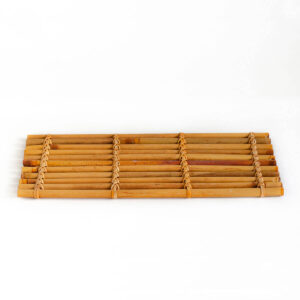 Patipatti Bamboo Tea Tray - Warm Red Reed