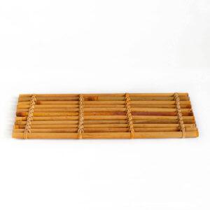 Patipatti Bamboo Tea Tray - Warm Red Reed