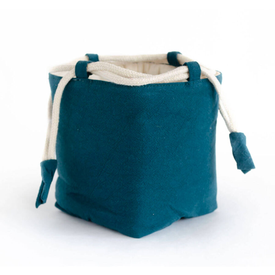 Large Cotton Travel Pouch for teaware