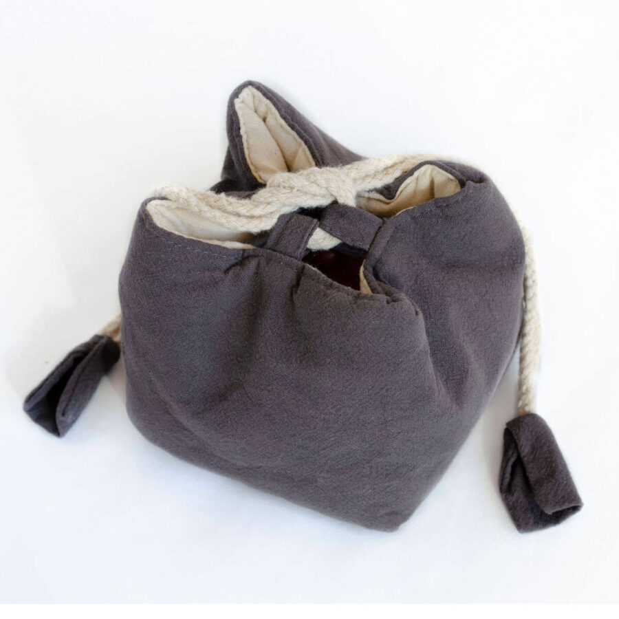 Cotton Travel Pouch for teaware